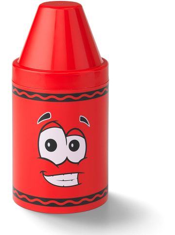 Crayola Opbergbox rood - (H)30,2 x Ø 14 cm