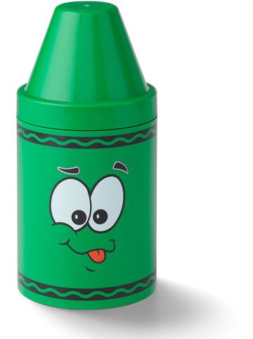Crayola Opbergbox groen - (H)30,2 x Ø 14 cm