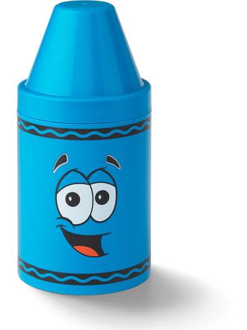 Crayola Opbergbox blauw - (H)30,2 x Ø 14 cm