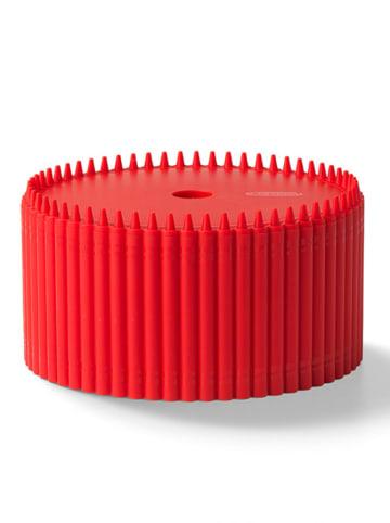 Crayola Opbergbox rood - (H)9 x Ø 17 cm