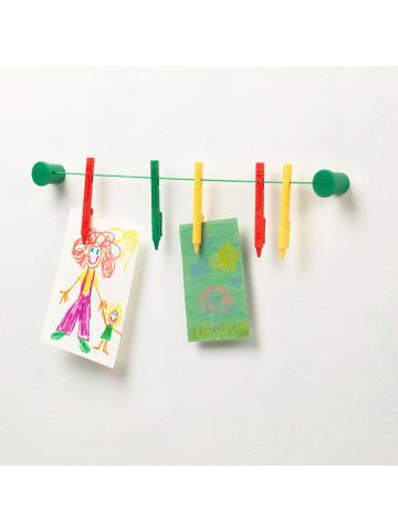 Crayola Wieszak w kolorze zielono-czerwonym na prace - 10 x 2,7 cm