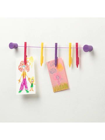Crayola Wieszak w kolorze fioletowo-różowym na prace - 10 x 2,7 cm