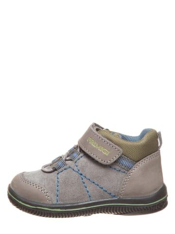 Primigi Leder-Sneakers in Grau