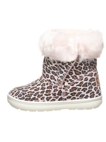 Primigi Leren boots lichtroze/bruin