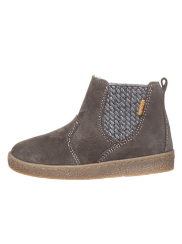 Primigi Leder-Boots in Taupe