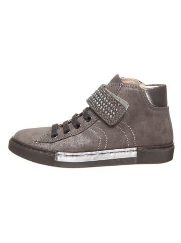 Primigi Leren sneakers taupe