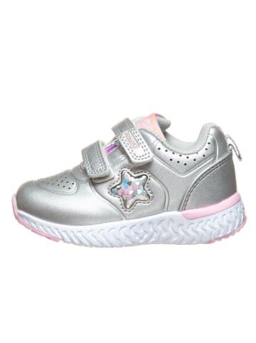 Primigi Sneakersy w kolorze srebrnym