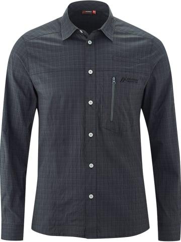 "Maier Sports Functionele blouse ""Mats"" - regular fit - grijs"
