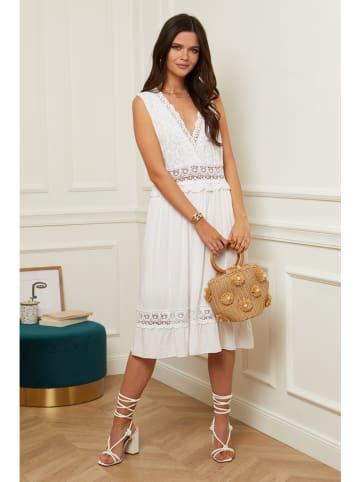 Alice & Charlotte Sukienka w kolorze białym