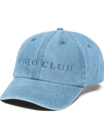 Polo Club Czapka w kolorze błękitnym