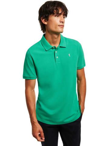 Polo Club Koszulka polo w kolorze zielonym