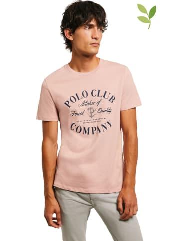 Polo Club Koszulka w kolorze jasnoróżowym