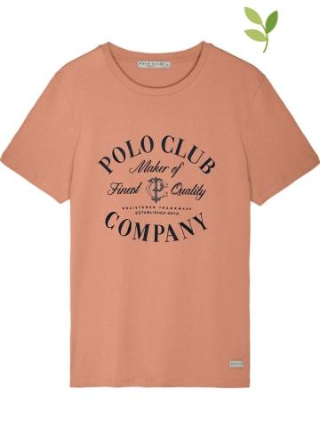 Polo Club Koszulka w kolorze pomarańczowym