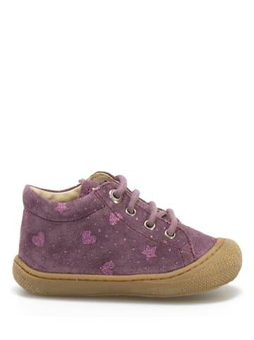 Naturino Leren sneakers paars