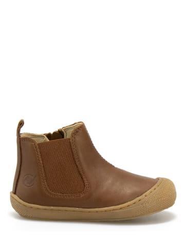 Naturino Leder-Boots in Hellbraun