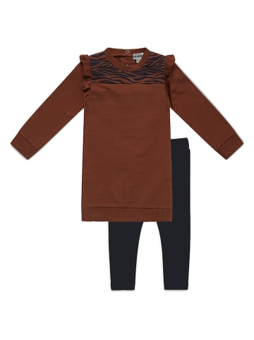 Koko Noko 2tlg. Outfit in Hellbraun/ Dunkelblau