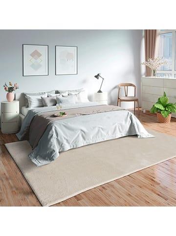 """Nazar Hoogpolig tapijt """"Loft"""" beige"""