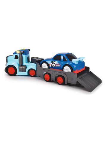 """Dickie Racetransporter """"Teddi Trucker"""" met accessoires - vanaf 12 maanden"""