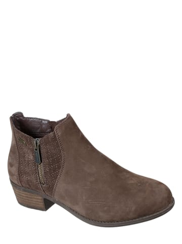 """Skechers Leder-Ankle-Boots """"Arch Fit Lasso-Classy Charmer"""" in Braun"""