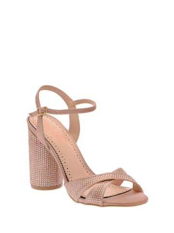 Pazolini Sandały w kolorze beżowym