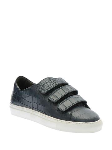 Carlo Pazolini Leder-Sneakers in Blau