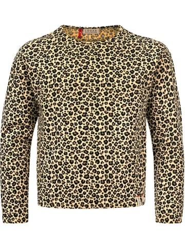 LOOXS little Sweatshirt geel/bruin