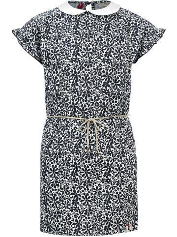LOOXS little Kleid in Schwarz/ Weiß