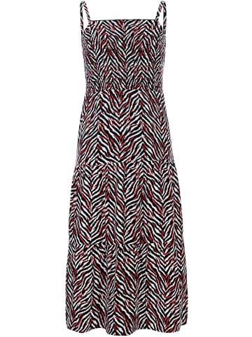 LOOXS 10 sixteen Sukienka w kolorze czarno-biało-czerwonym