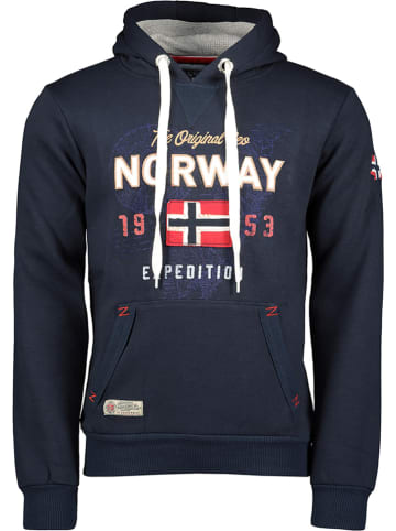 """Geographical Norway Bluza """"Guitre"""" w kolorze granatowym"""