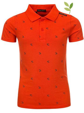 COMMON HEROES Poloshirt oranje