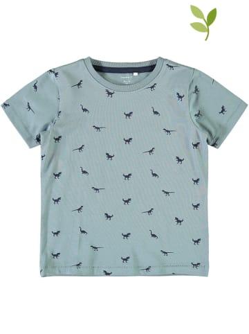 """Name it Koszulka """"Lincon"""" w kolorze błękitnym"""