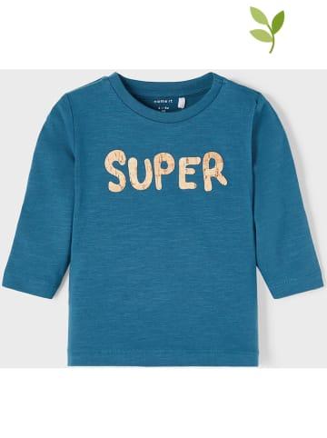 """Name it Koszulka """"Lionel"""" w kolorze niebieskim"""