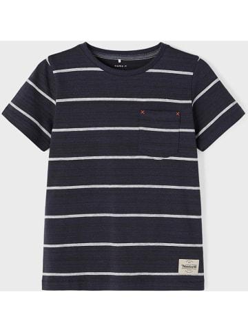"Name it Shirt ""Lasarus"" donkerblauw"