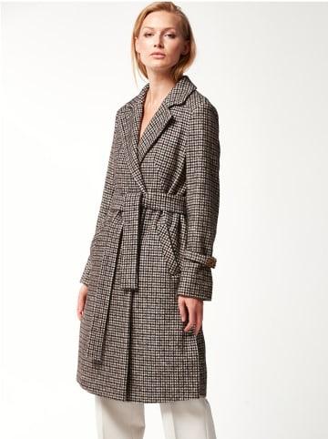 PATRIZIA ARYTON Płaszcz w kolorze szarym ze wzorem