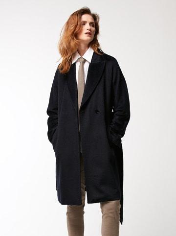 PATRIZIA ARYTON Wełniany płaszcz w kolorze czarnym