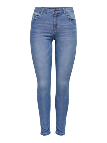 """ONLY Dżinsy """"Iris"""" - Skinny fit - w kolorze błękitnym"""