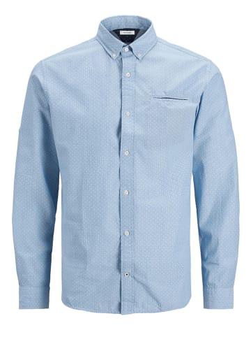 "Jack & Jones Koszula ""Thomas"" w kolorze błękitnym"