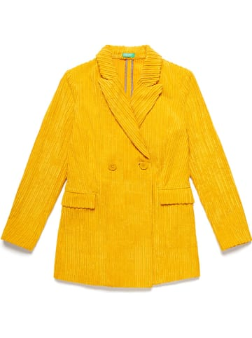 Benetton Blazer geel