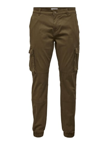 """ONLY & SONS Cargohose """"Cam"""" in Khaki"""