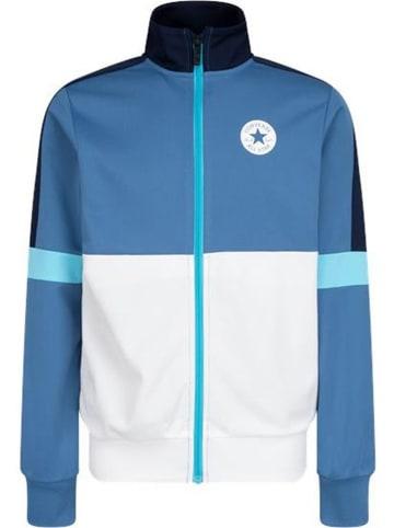 Converse Bluza w kolorze niebiesko-białym