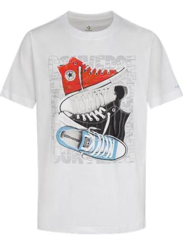 Converse Koszulka w kolorze białym