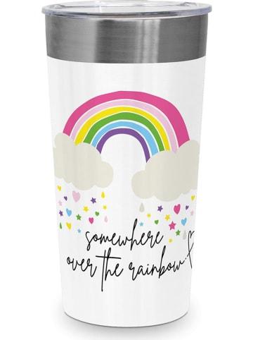 "Ppd Lunchbox ""Steel Rainbow"" wit/meerkleurig - 430 ml"
