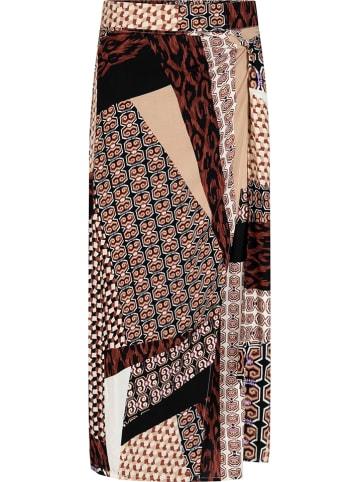 Tramontana Spódnica w kolorze brązowym