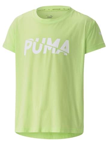 """Puma Koszulka """"Modern Sports"""" w kolorze limonkowym"""