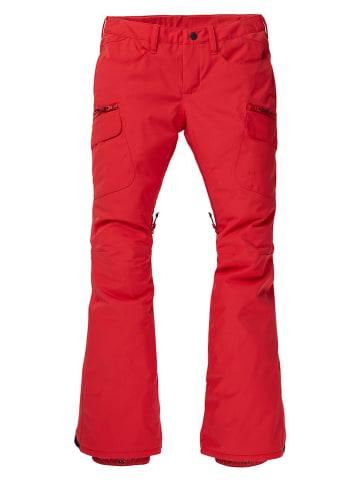 """Burton Spodnie narciarskie """"Gloria"""" w kolorze czerwonym"""