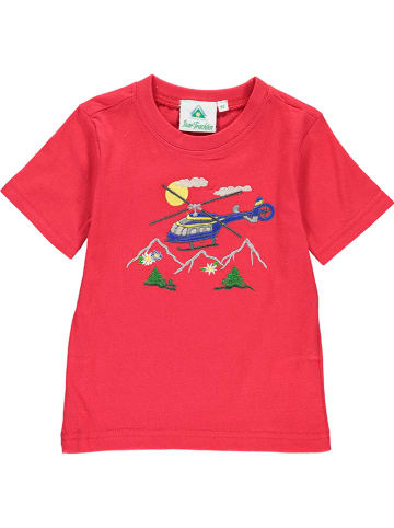 Isar-Trachten Shirt in Rot