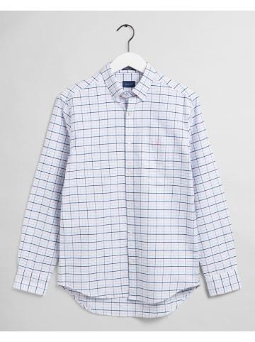 Gant Koszula w kolorze biało-niebiesko-jasnoróżowym