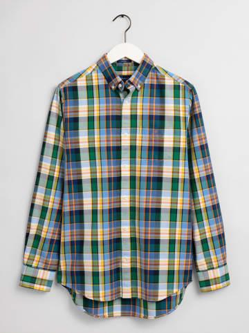 Gant Koszula w kolorze niebiesko-biało-zielonym