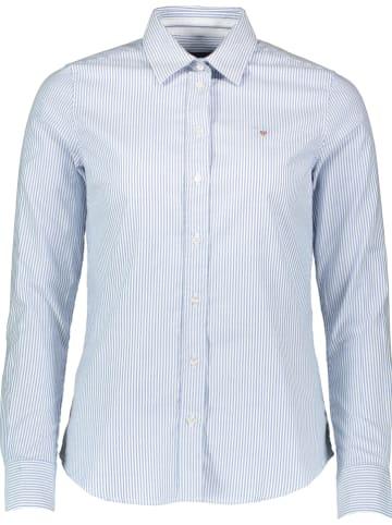 Gant Bluzka w kolorze błękitno-białym