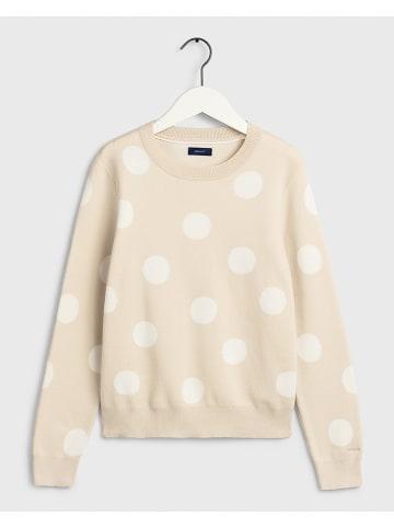 Gant Bluza w kolorze biało-beżowym